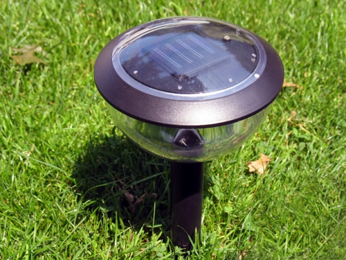 Curb appeal landscaping ideas - installing solar lights will make a big difference