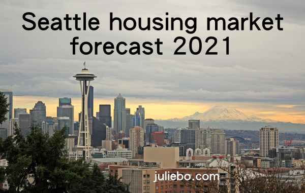 Seattle housing market forecast 2021 - picture of Seattle's beautiful skyline.